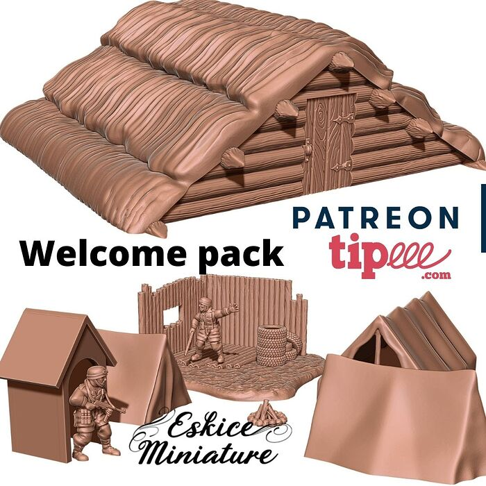 Welcome pack by Eskice Miniature