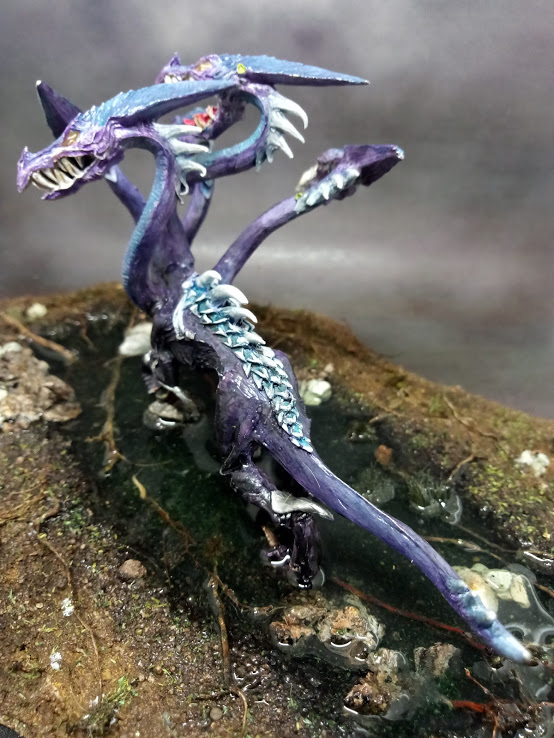 19-029 - Warhammer AOS METAL Dark elf war hydra15