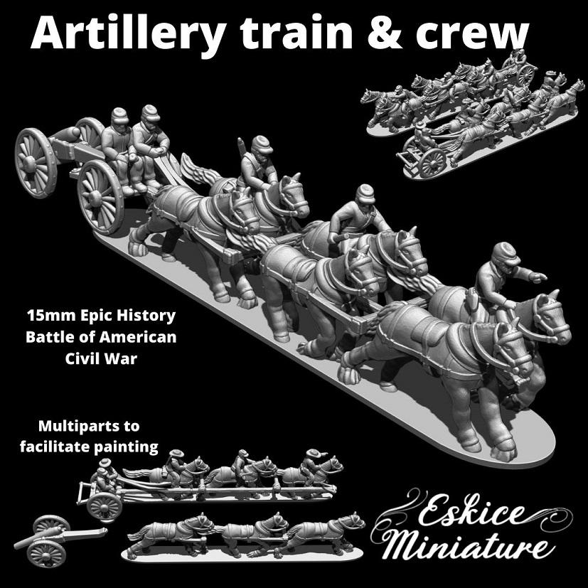 MINI Artillery Train